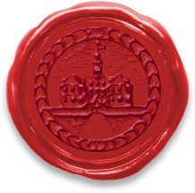 Colonial Williamsburg wax seal